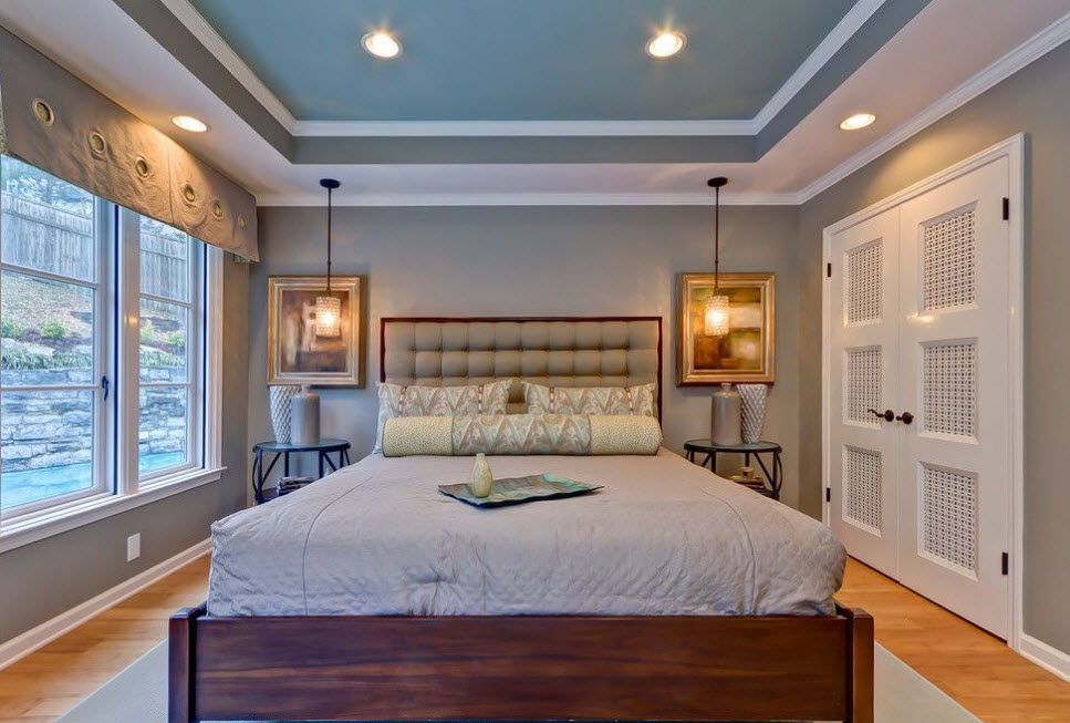 Tray Ceiling for Bedroom