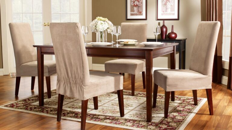 the Perfect Dining Room Chair Covers Design