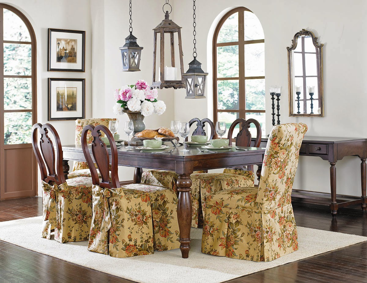 Beautiful Dining Room Chair Slipcovers