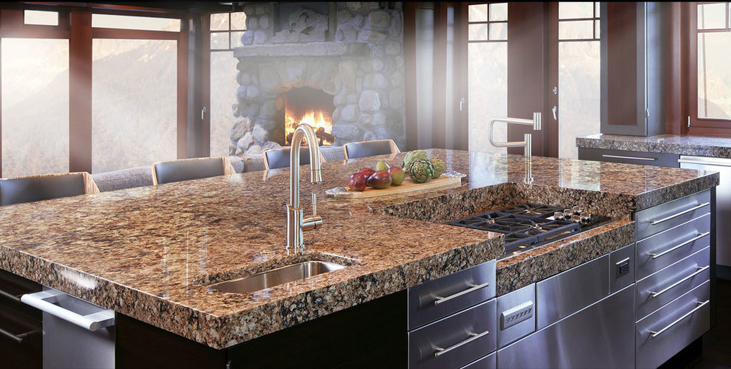 Wonderful Kitchen Granite Countertop Colors