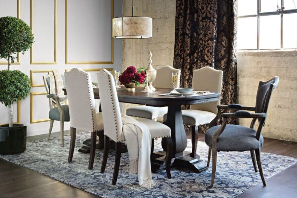 Upholstered Dining Room Chairs: Elegant and Neutral