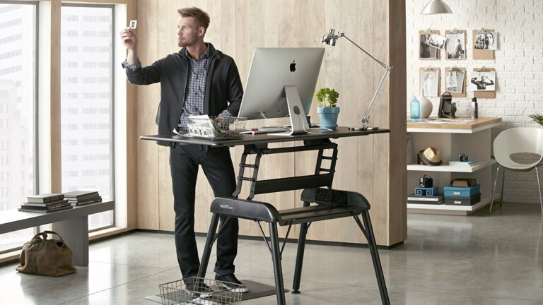 Standing Desk Innovation for the Workaholic
