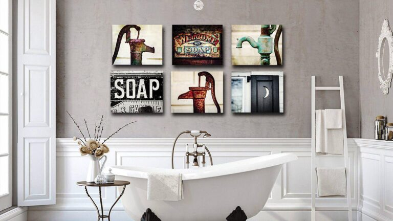 Bathroom Wall Decoration