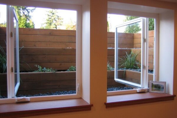 Egress Window Treatment Ideas