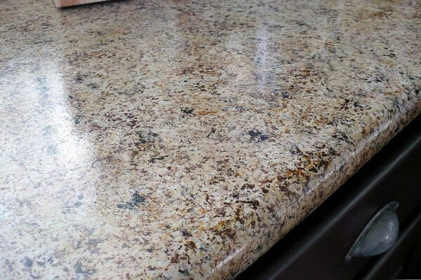 Home Improvement Project: Faux Granite Countertop
