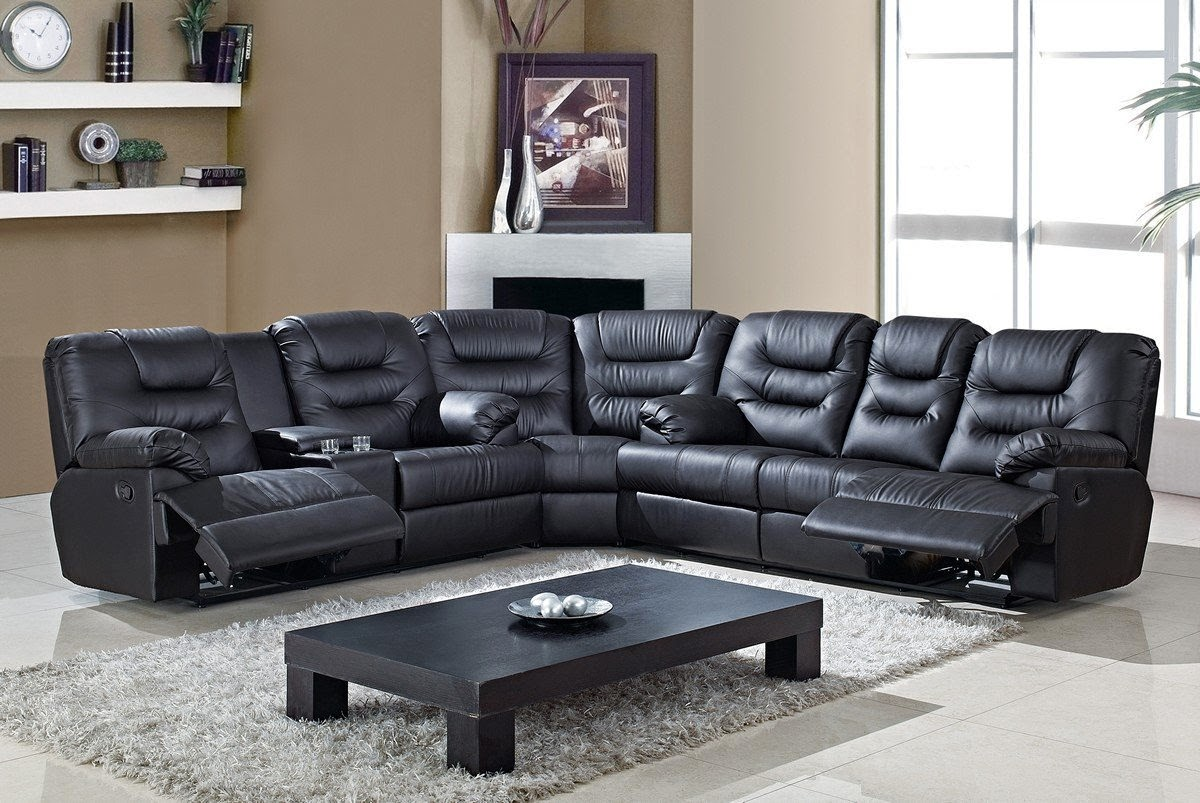 Reclining Leather Sectional Sofas