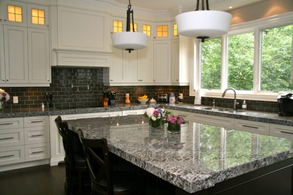 Granite Tile Countertops Kitchen Ideas