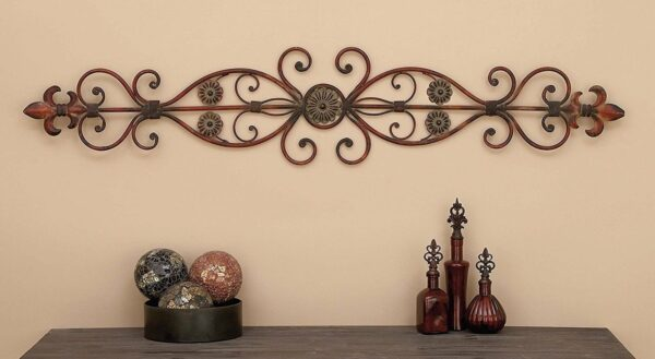 Make It Artistic in Wrought Iron Wall Decor!