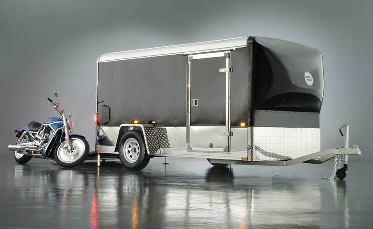 The Big Motorcycle Trailer