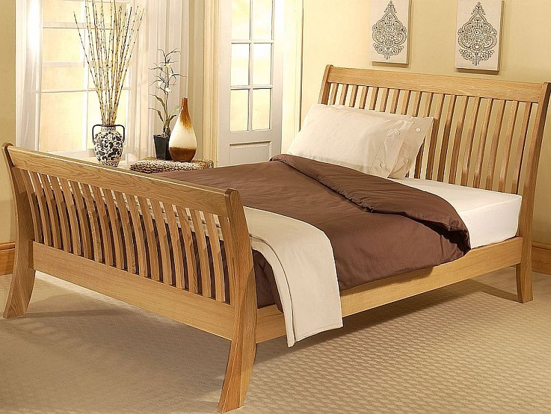 Sleigh Bed Frame Made From the Best Material