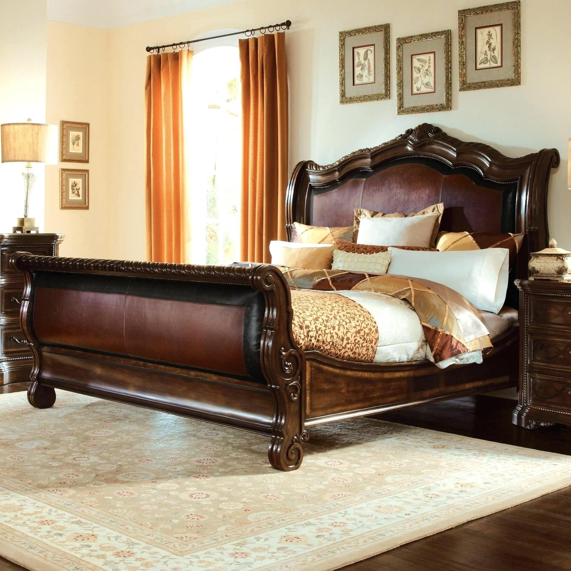 King size sleight bed