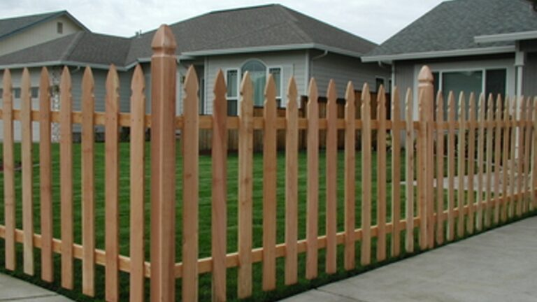 Stockade Fence for the Suburb