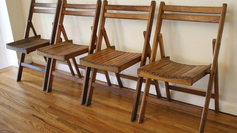 The Functions of Folding Chairs