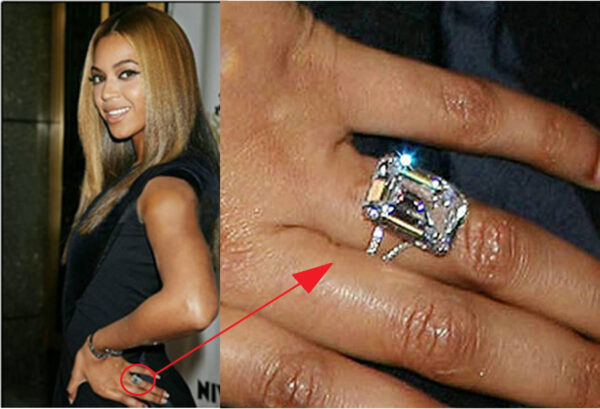 Beyonce Engagement Ring that Cost as the Most Expensive Lists