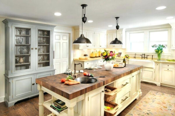 Butcher Block Island Design Ideas