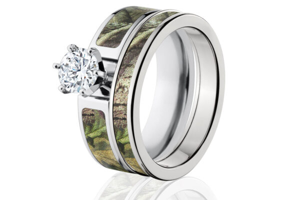 Camo Engagement Rings as Flawless Ring Collections
