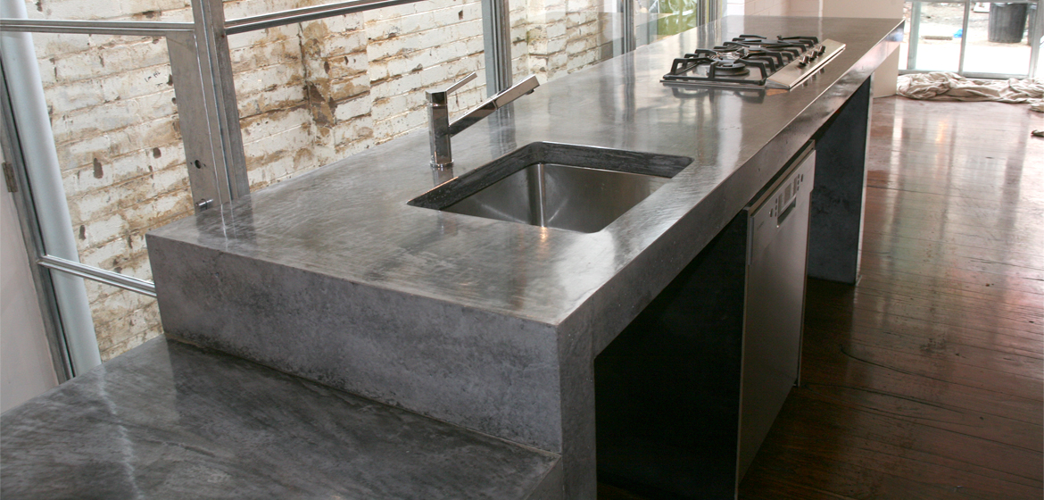 Cement Countertops and Its Simple Beauty