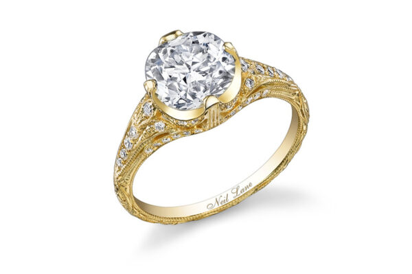 Miley Cyrus Engagement Ring: Large Diamond from Neil Lane