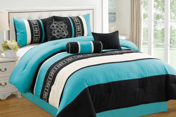 Turquoise Bedding with Soft Touch for Your Bedroom