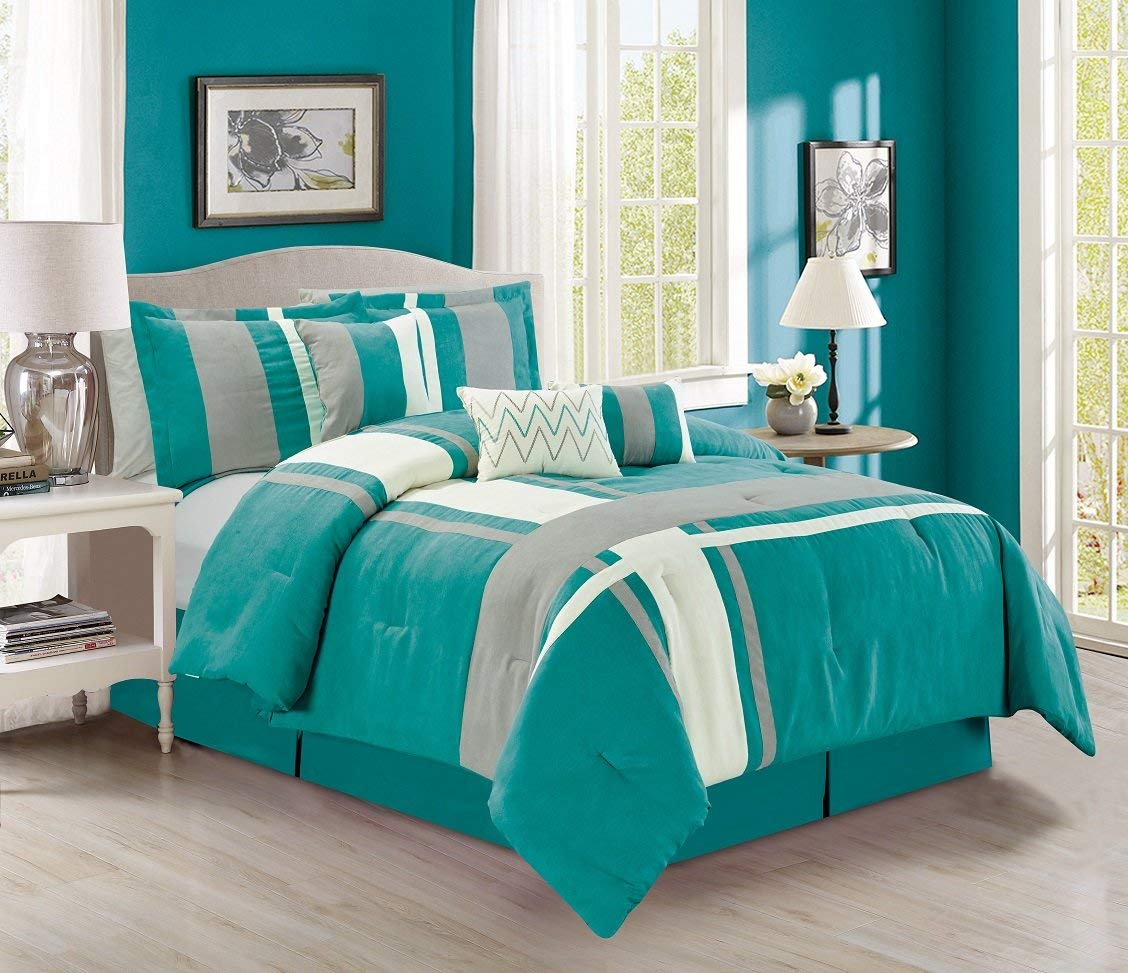 Beautiful Design of Turquoise Bedding