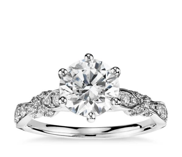 Blue Nile Engagement Rings with Timeless Collections