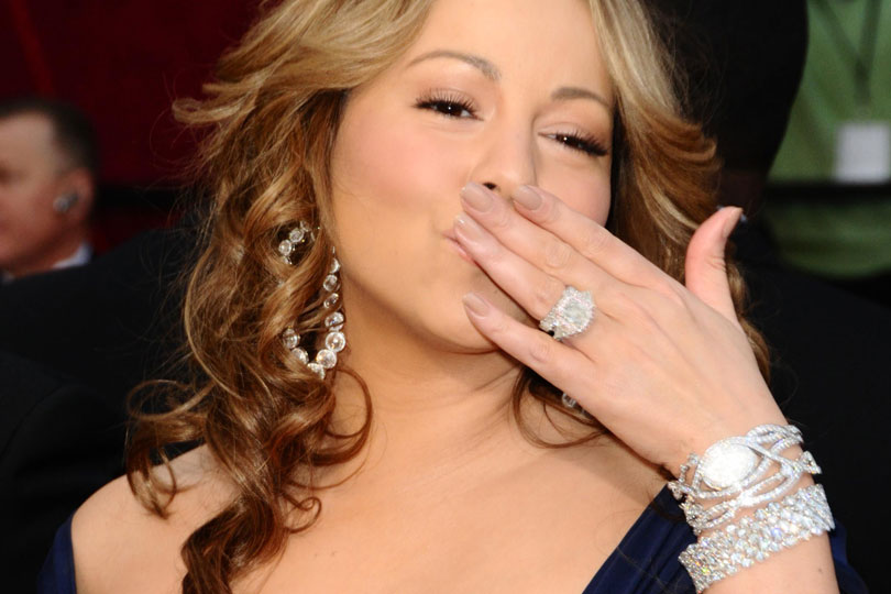 engagement rings from Mariah Carey from Nick Cannon