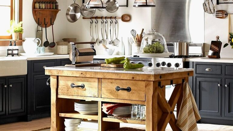 Portable Kitchen Island Design Ideas