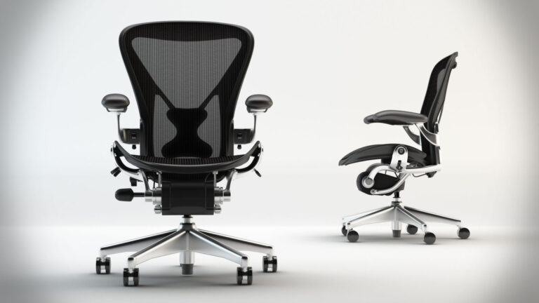 Timeless Design of Working Chair, the Aeron chair