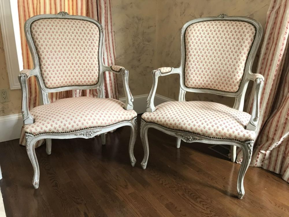 5 Steps for Reupholstering Bergere Chair