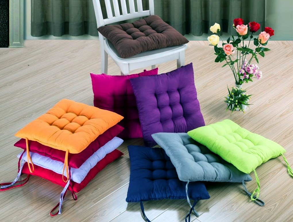 Colorful Chair Cushions