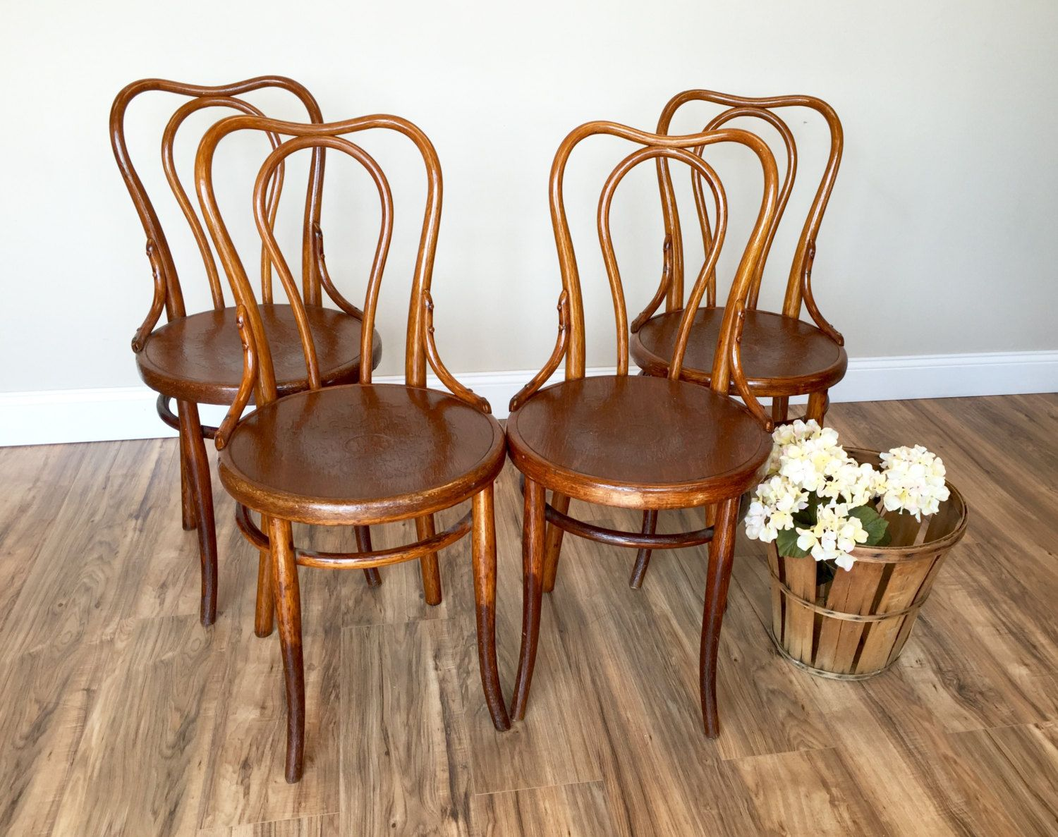 brown bentwood chairs