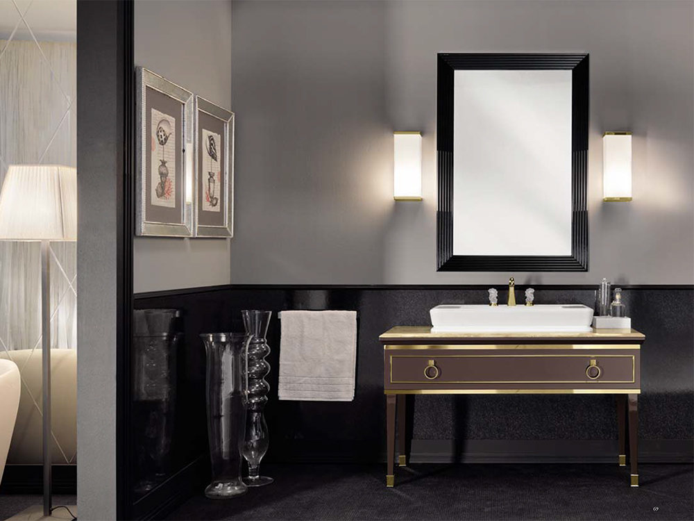 the framed vanities that offer a more traditional or classic look