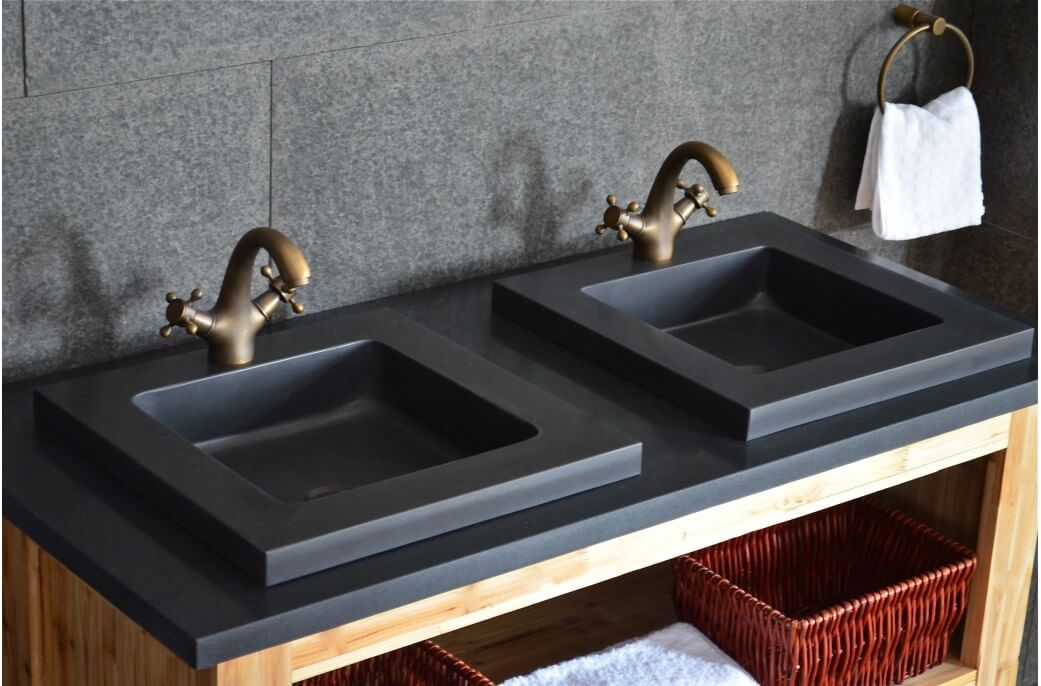 Metal bathroom Sink