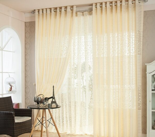The Softness of the Lace Curtains and Some Variations